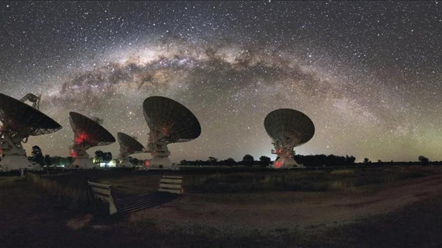 Vinculan bultos misteriosos en la Vía Láctea a la materia perdida de la galaxia
