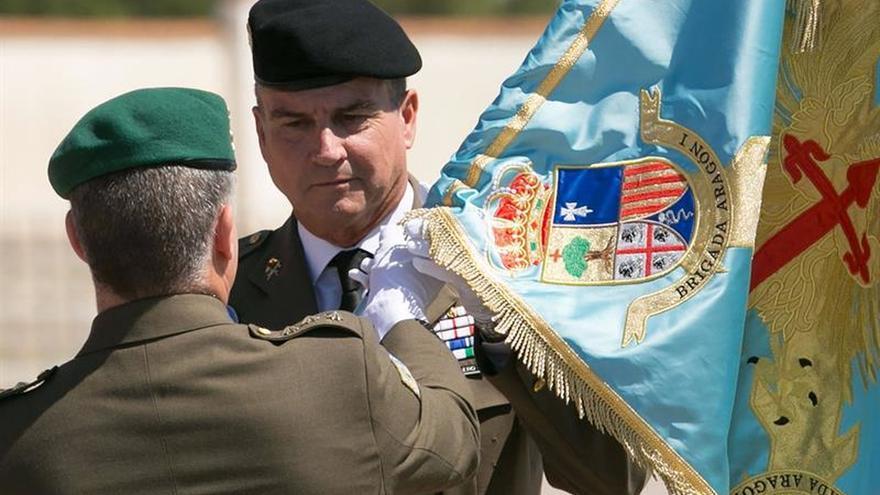 """Un general español """"preocupado"""" por el muro que Israel levanta en la frontera libanesa"""
