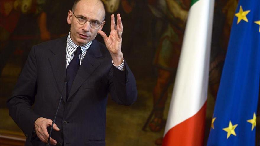 Letta concentra a sus ministros en una abadía en Toscana para aunar posturas