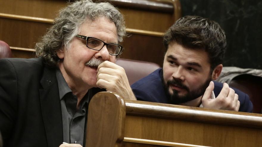 Rufián, partidario de que ERC tenga un grupo distinto a CDC en el Congreso si se repiten las elecciones