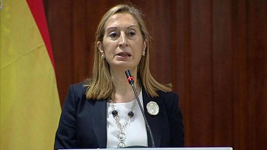 La ministra Ana Pastor asistirá hoy en Toledo al Congreso de la FSC de CCOO