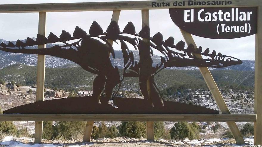 En el término municipal de El Castellar se han inventariado 72 yacimientos con fósiles de dinosaurios