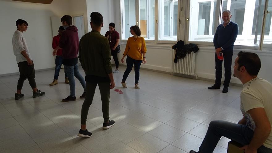 De momento hay seis alumnos en la Escuela de Segunda Oportunidad del Ayuntamiento de Huesca
