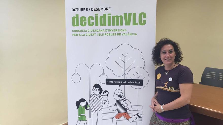 La concejala de Participación, Neus Fábregas