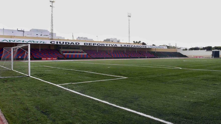 Ciudad Deportiva Lanzarote, donde juega sus partidos el conjunto conejero de Tercera.