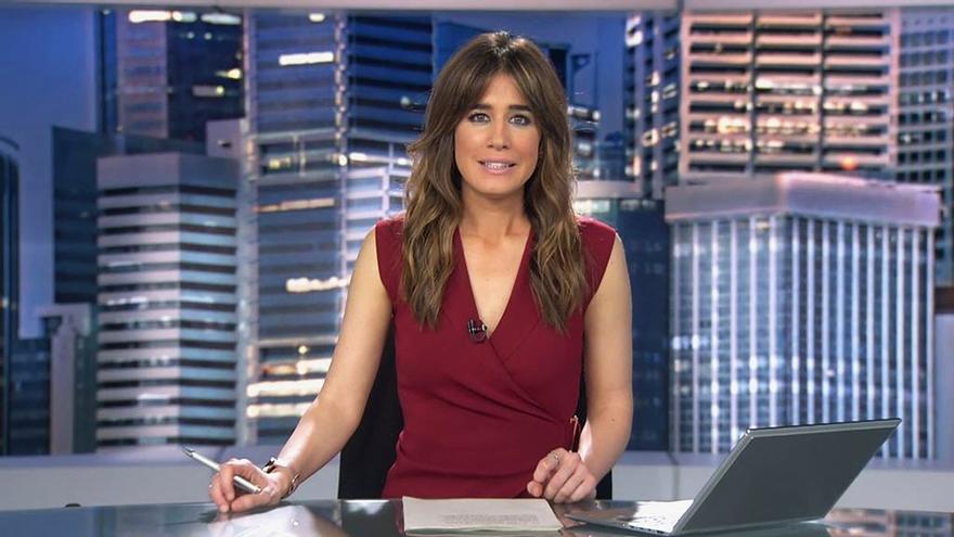Isabel Jiménez en Informativos Telecinco 21h