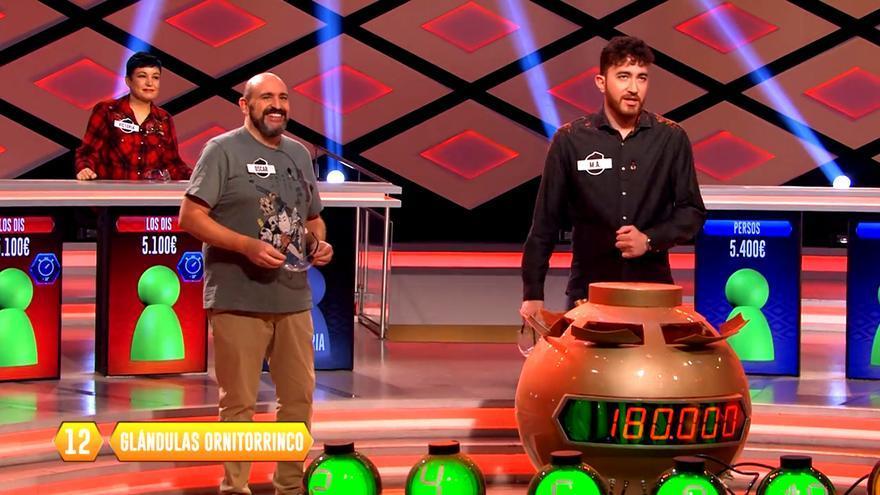 'Los Dispersos' durante las emisiones especiales que ellos mismos protagonizan en '¡Boom!'