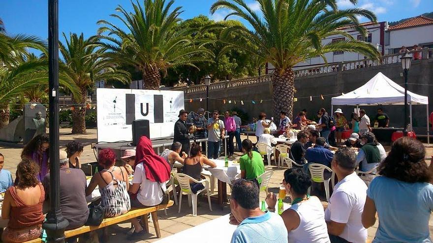 Imagen de archivo de la segunda edición del Festival de La Palabra celebrado en Garafía.