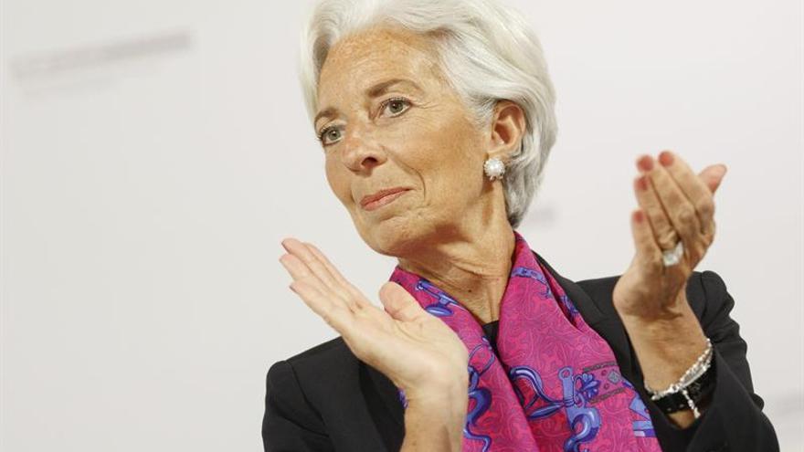 """Lagarde ve como principal riesgo """"rehuir la globalización"""" y """"replegarse"""""""
