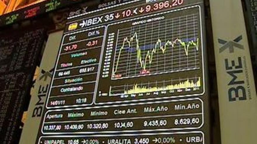 La Bolsa sube un 0,11%