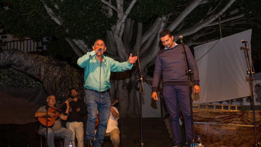 Actuación del verseador Joseíto Bienes en un encuentro de punto cubano.