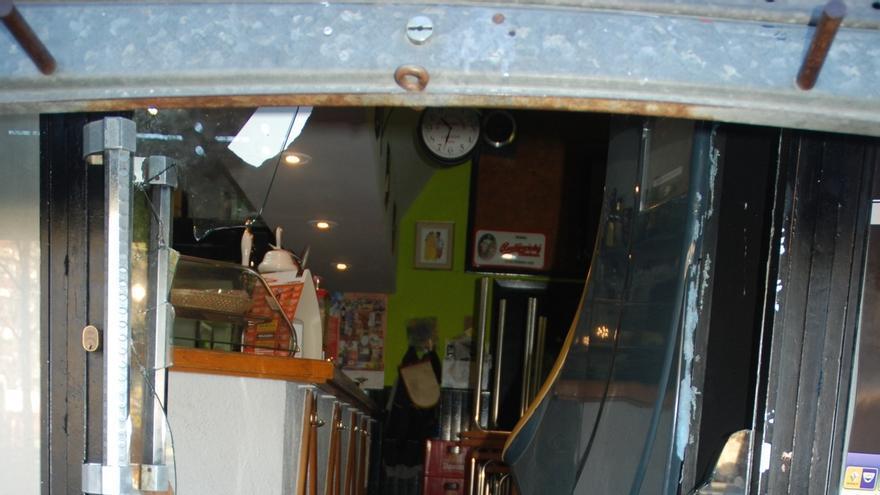 Detenidos tres hombres por robo en un locutorio de Tudela