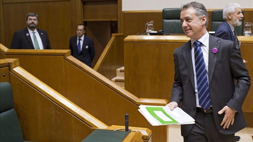 El PSE facilitará a Urkullu la aprobación de los presupuestos vascos de 2014