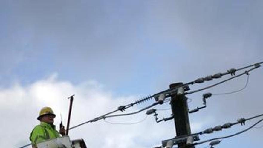 Apagón en Florida recurso tendido eléctrico