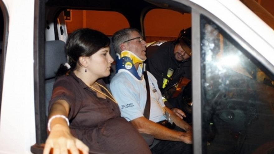 Del simulacro de accidente en el túnel de Pedro Hidalgo #5