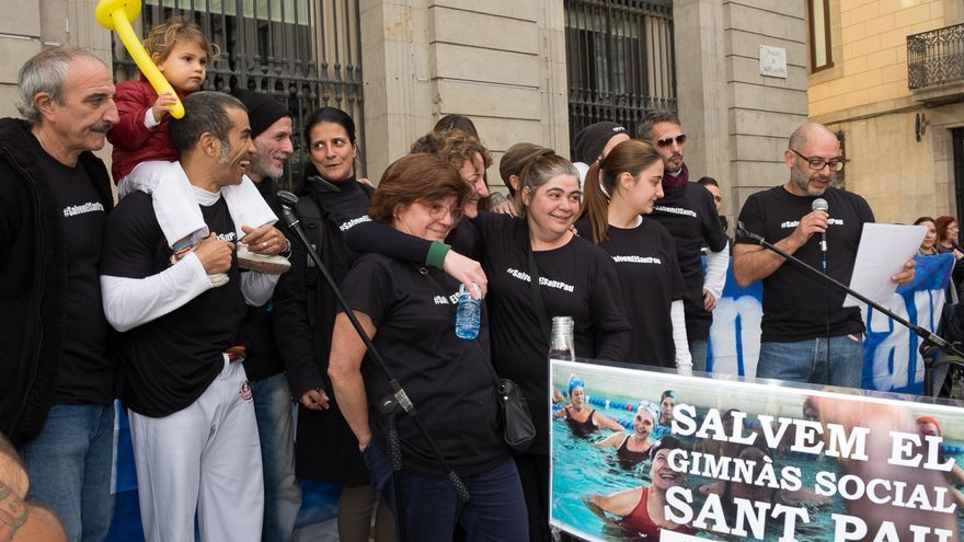 #SalvemelSantPau consiguió movilizar a cerca de 40 entidades y centenares de vecinos.