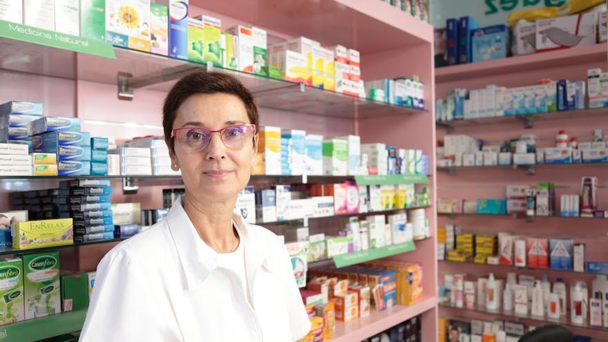 Caridad Mota, farmacéutica