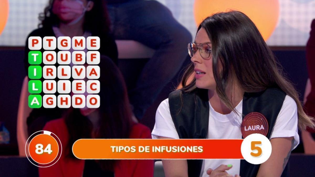 Laura Matamoros en 'Pasapalabra'