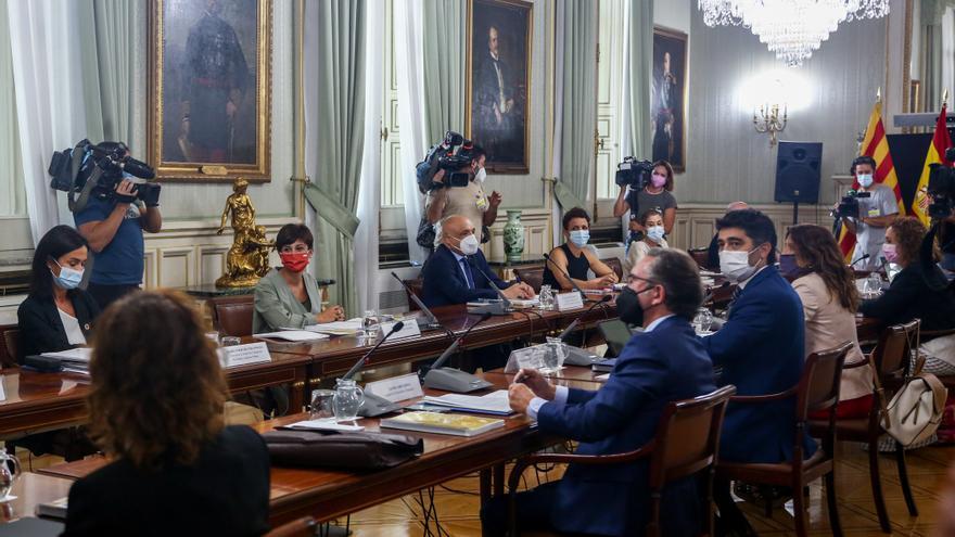 Reunión bilateral ministerial entre el Gobierno y la Generalitat de Catalunya