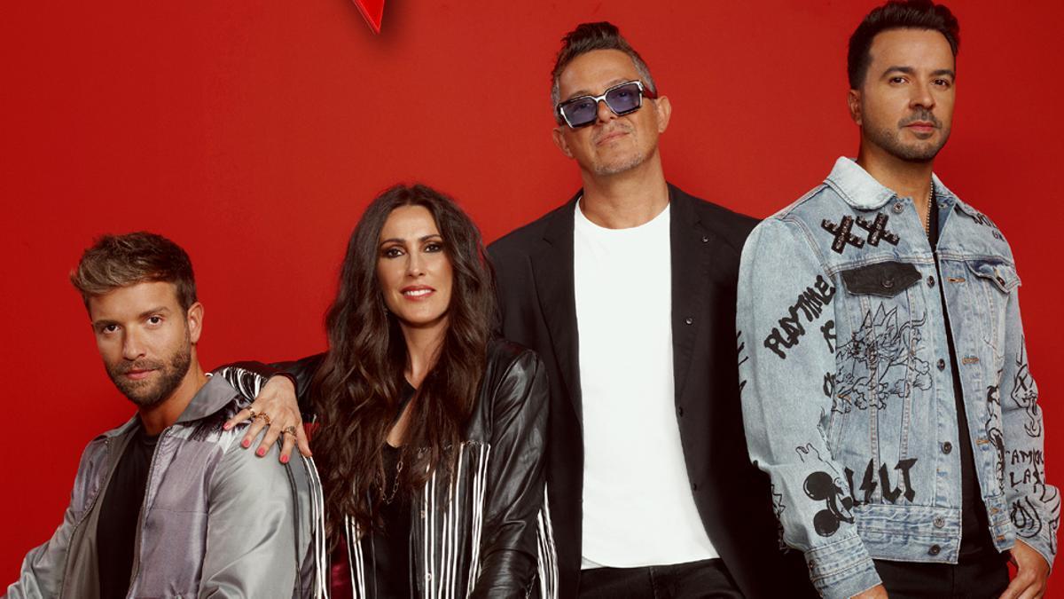 Los nuevos coaches de 'La Voz'