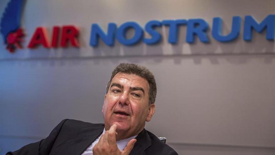 Air Nostrum triplica su beneficio hasta los 11,3 millones en 2015