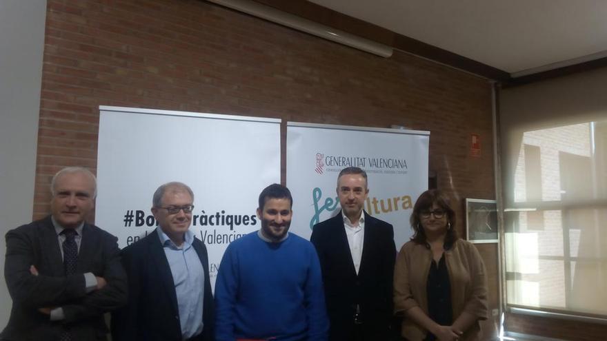 Albert Girona, Abel Guarinós, Vicent Marzà, José Luis Pérez Pont y Carmen Amoraga