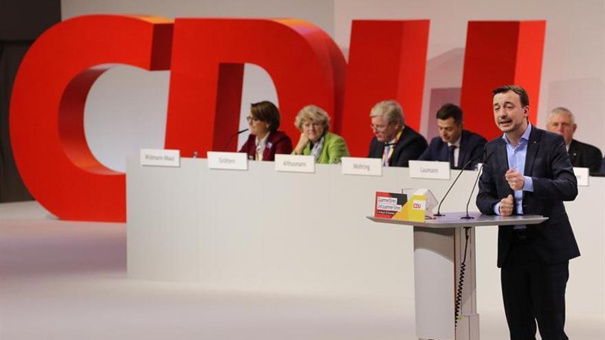 Kramp-Karrenbauer propone al líder de las juventudes de la CDU para secretaría general