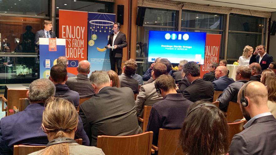 Europarlamentarios españoles y de las RUP se reúnen con representantes de Asprocan en Bruselas