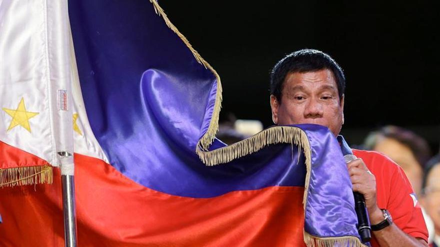 Los resultados oficiales confirman a Duterte como presidente de Filipinas