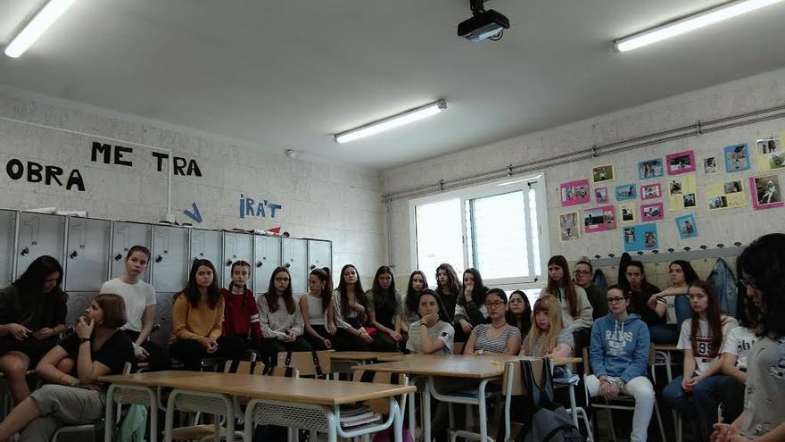 Alumnas de 4o de la ESO de Dominiques Ensenyament