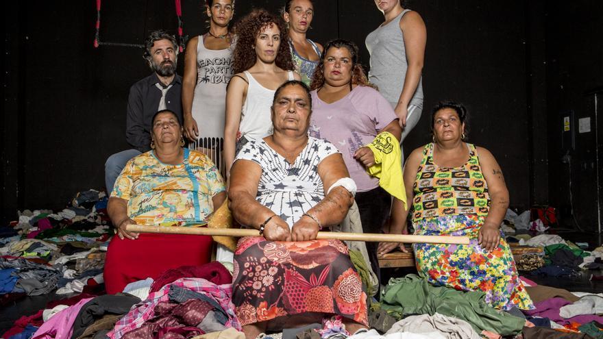 Ensayo de la la obra 'Fuenteovejuna' / FOTOGRAFÍA de Félix Vázquez