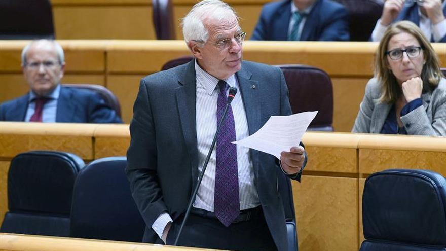 """Borrell niega que España esté """"de rodillas"""" ante Arabia Saudí"""