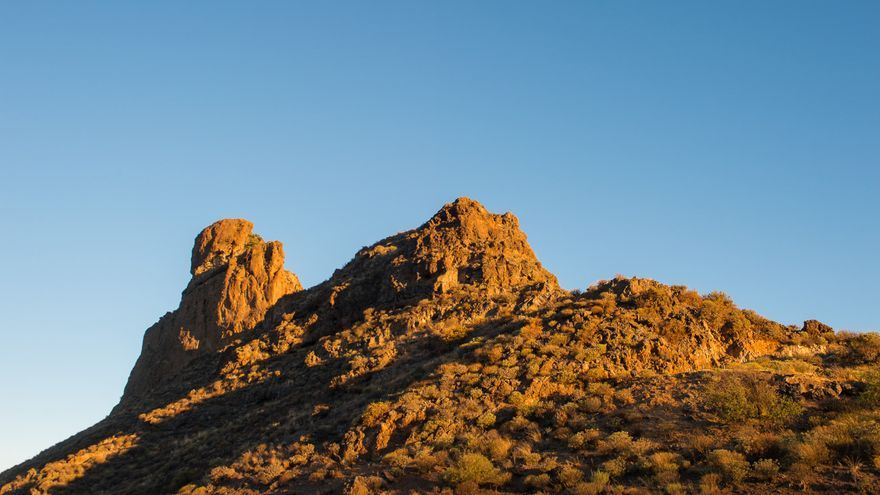 Llegada del otoño al yacimiento del Roque Bentayga (Canarias Ahora)