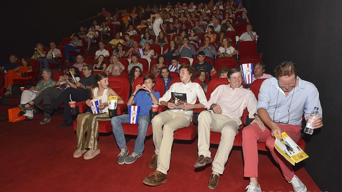 Imagen de archivo de una sala de los cines El Tablero | TONI BLANCO