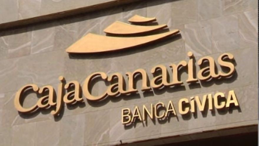 Oficina de CajaCanarias en la etapa en que estaba integrada en Banca Cívica, ahora la primera absorbida por CaixaBank