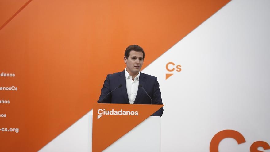 """Rivera, sobre la imputación de Pedro Antonio Sánchez: """"Si no fuera por Ciudadanos, seguiría siendo presidente de Murcia"""""""