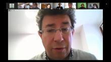Iñaki Gurtubai, en una videoconferencia reciente