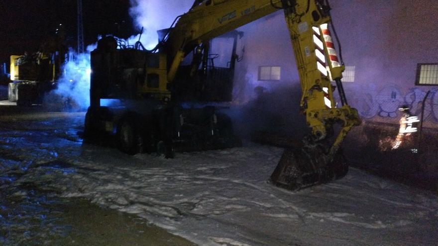 Nuevos actos vandálicos contra las obras del AVE