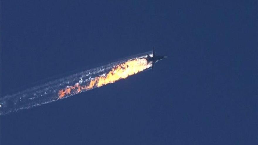 Un mando turcomano dice que mató a los dos pilotos rusos del caza abatido