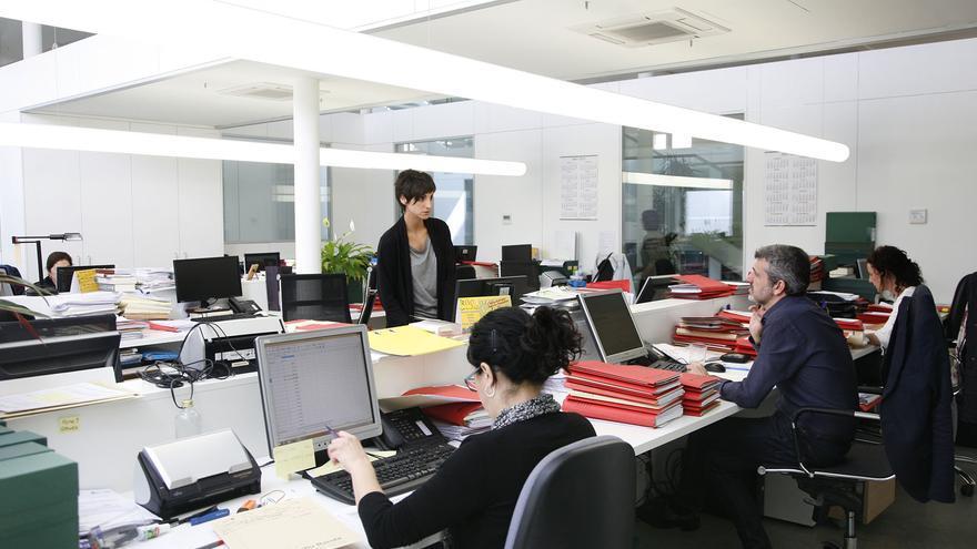 Oficinas del despacho de abogados Col·lectiu Ronda, en Barcelona. Foto: Andrea Bosch.