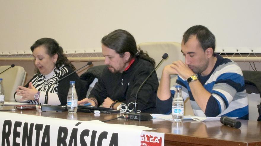 """Pablo Iglesias (Podemos) llama a cambiar en las europeas """"el guión que dice que sólo pueden ganarlas Pepsi o Coca-Cola"""""""