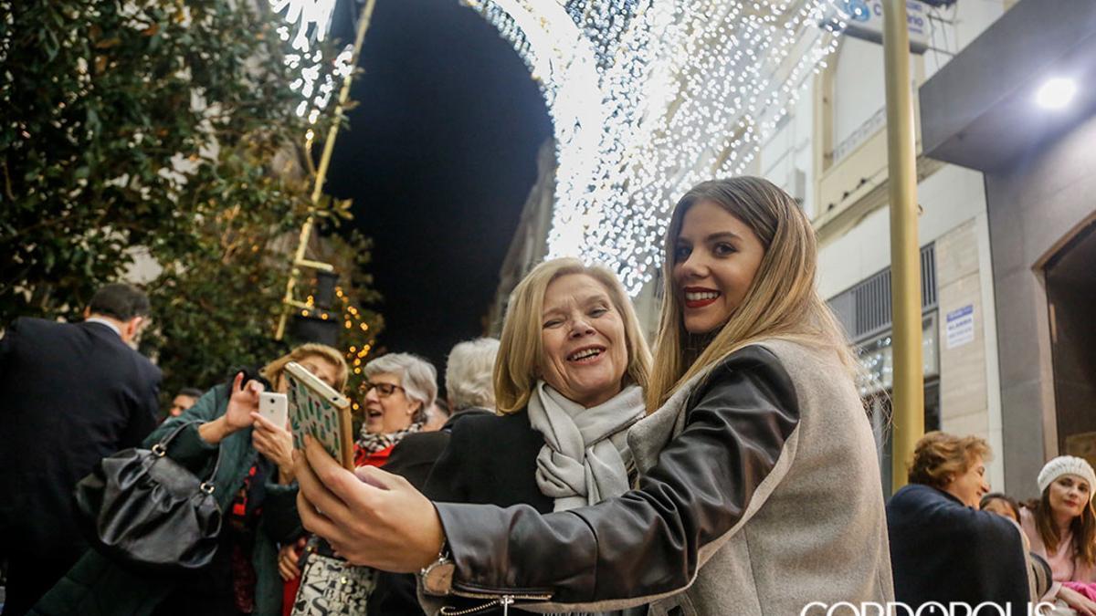 Imagen de archivo del espectáculo de luz y sonido de Navidad de 2019.