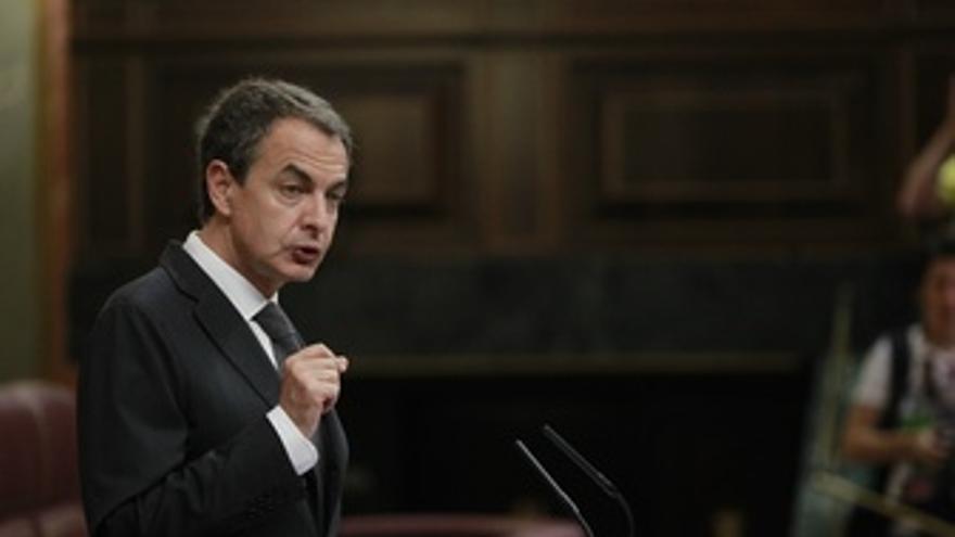 José Luis Rodríguez Zapatero, Presidente Del Gobierno, En El Congreso