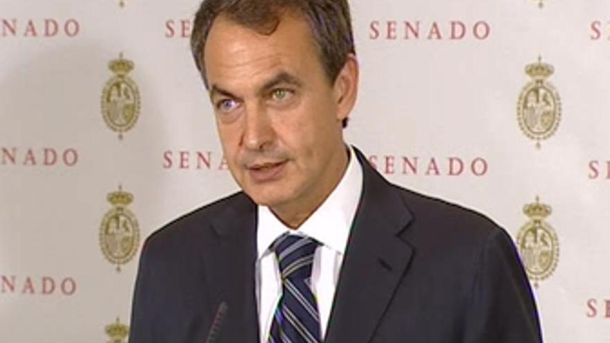El presidente del Gobierno, José Luis Rodríguez Zapatero.