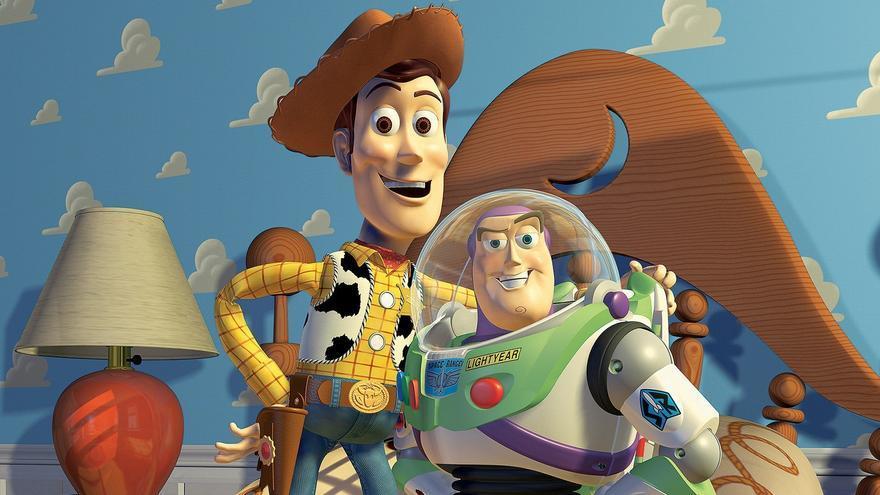 Woody y Buzz Lightyear, protagonistas de Toy Story y míticos iconos de Pixar