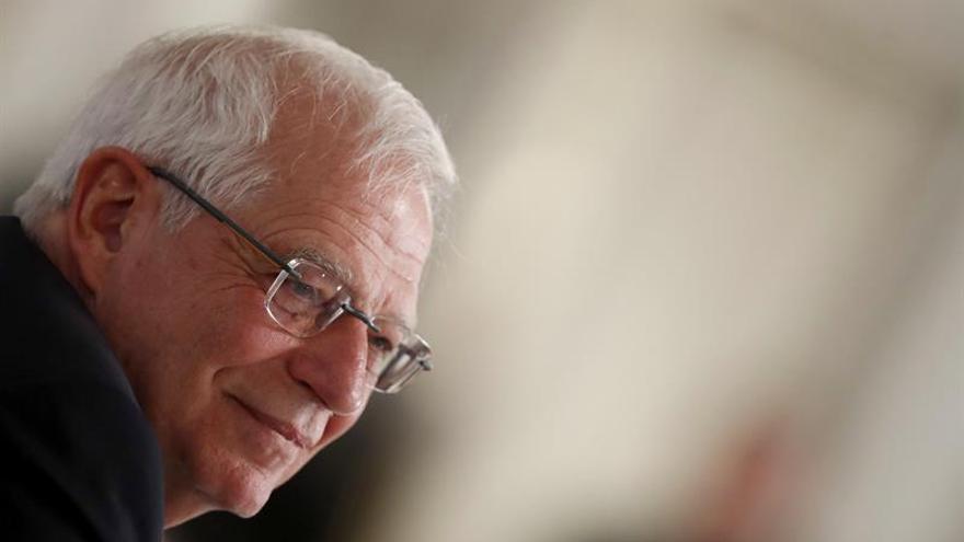 Borrell dice que España seguirá siendo solidaria con refugiados palestinos
