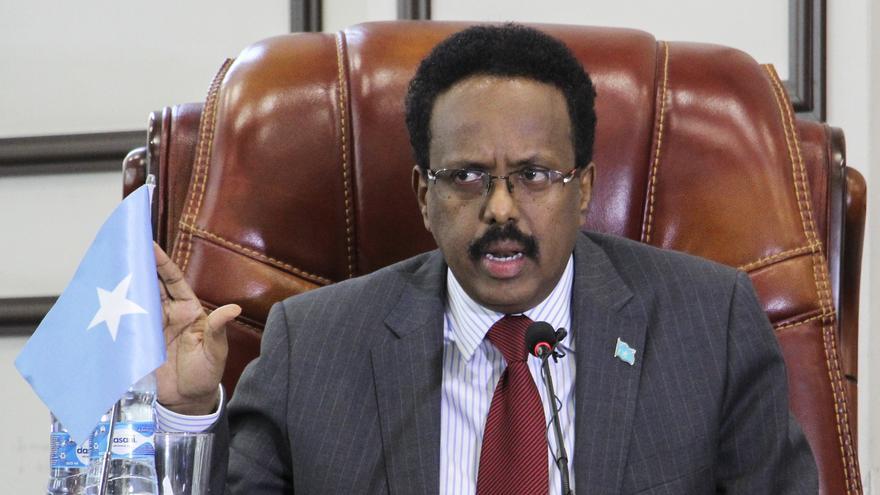 El presidente de Somalia extiende por ley su mandato presidencial otros 2 años
