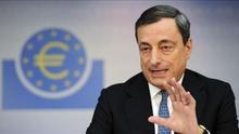 El presidente del Banco Central Europeo (BCE), Mario Draghi. / Efe