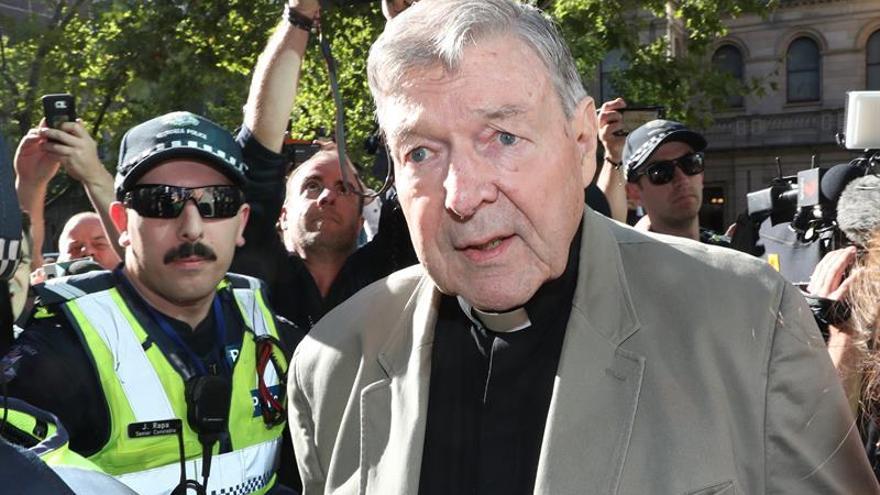 El cardenal George Pell condenado a 6 años de prisión por pederastia