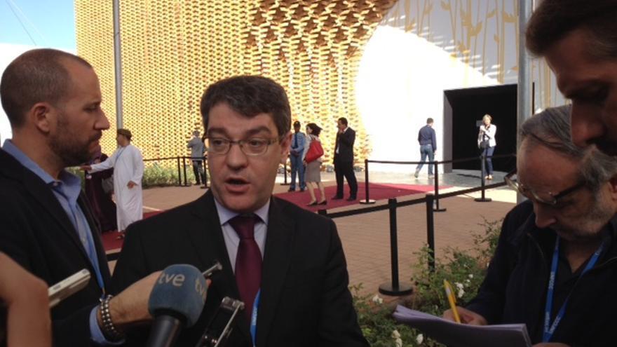 El ministro de Industria, Álvaro Nadal, en Marrakech.